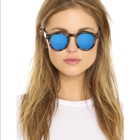 af6f2e07f2f5 Illesteva Accessories - Illesteva Leonard 2 purple blue lenses.